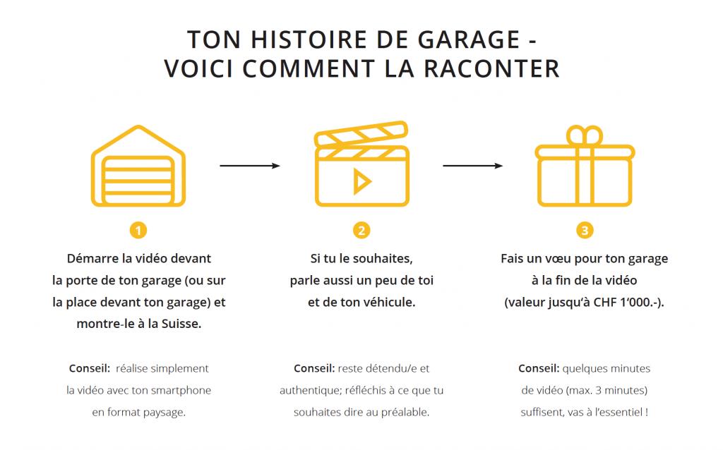 Ton histoire de garage, voici comment la raconter!